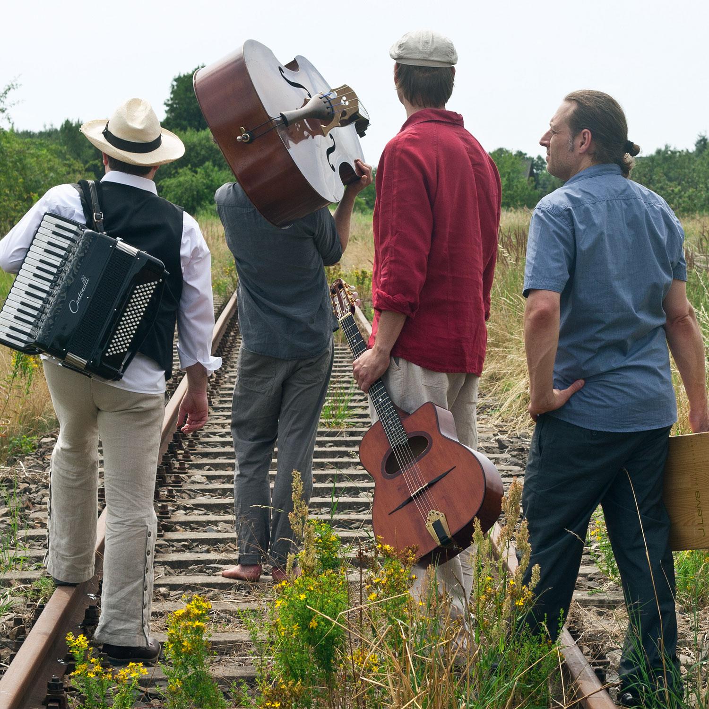 FloBêr auf den Gleisen